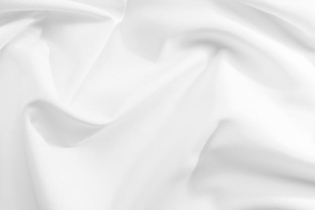 Абстрактная белая ткань текстуры фона Premium Фотографии