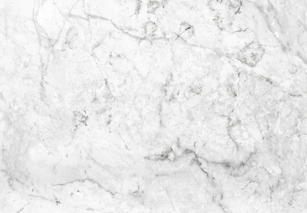 Abstract white marble patterned texture background