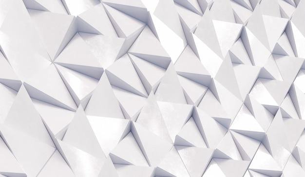 추상 흰색 삼각형 배경