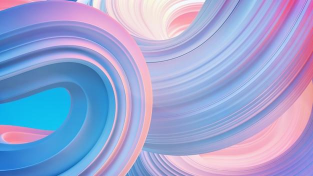 Абстрактный фон белая волна. 3d иллюстрации.