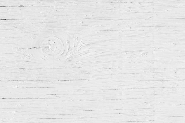 抽象的な白い木製の背景、板ストライプ木材デスク、白い木のテーブルの上から見る