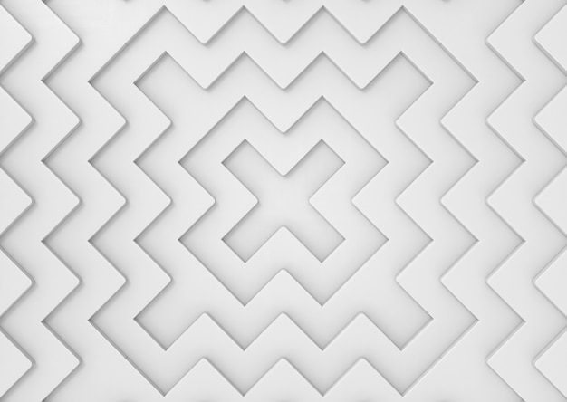Abstract white x shape pattern wall background.