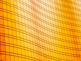 Abstract window glass exterior of architecture office building