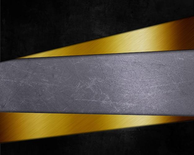 Аннотация с различными металлическими текстурами