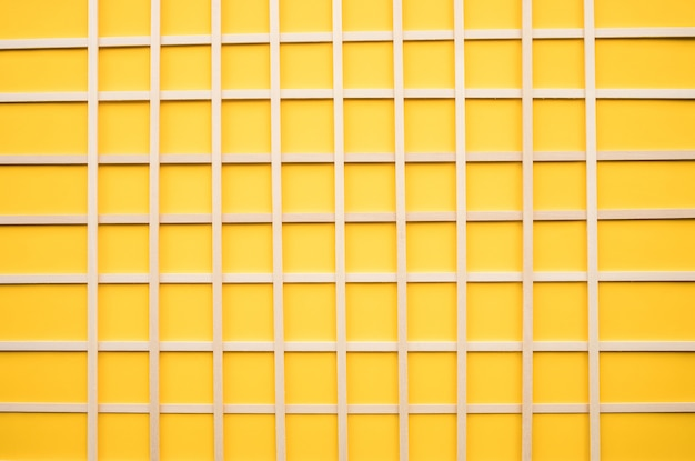 Abstract wood pattern on yellow background creativity concept idea