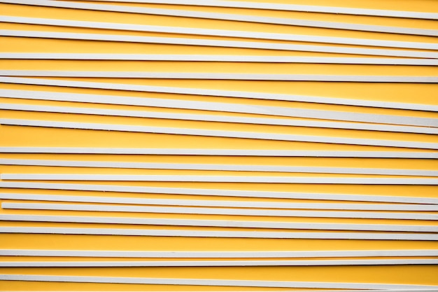 Abstract wood pattern on yellow background. creativity concept idea