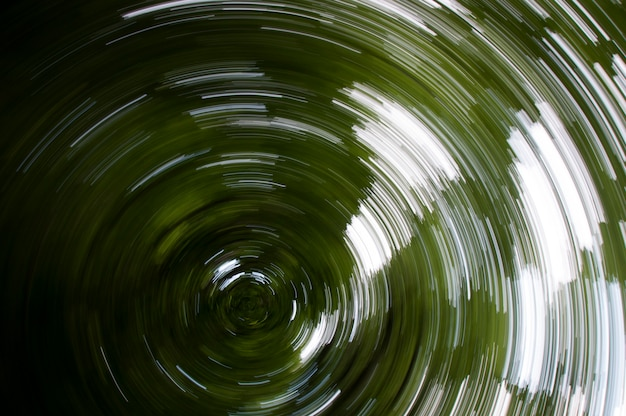 An abstract woodland zoomburst
