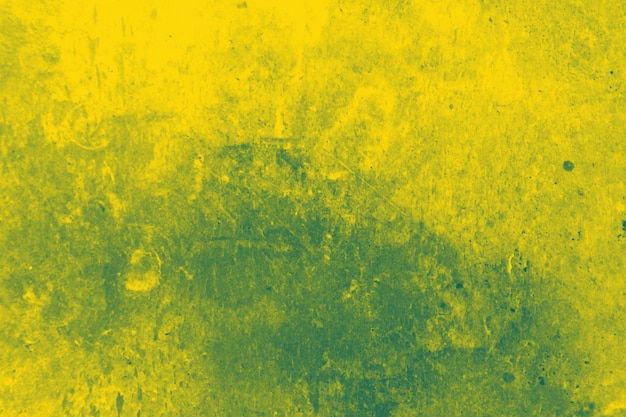 Abstract yellow and greeting wall texture