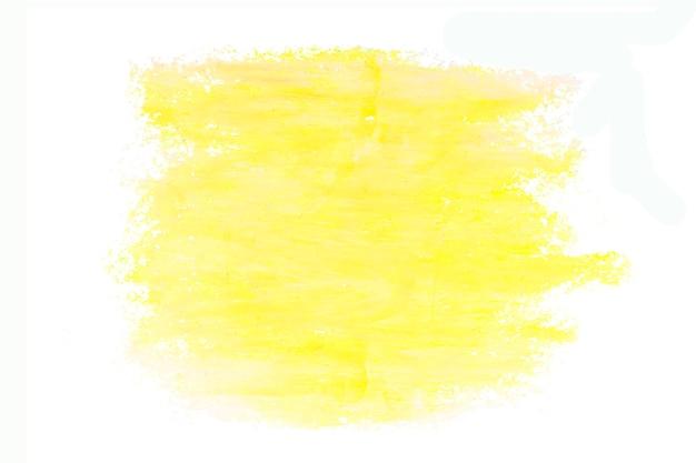 抽象的な黄色のペイントブラシカラーテクスチャデザインストロークの背景。