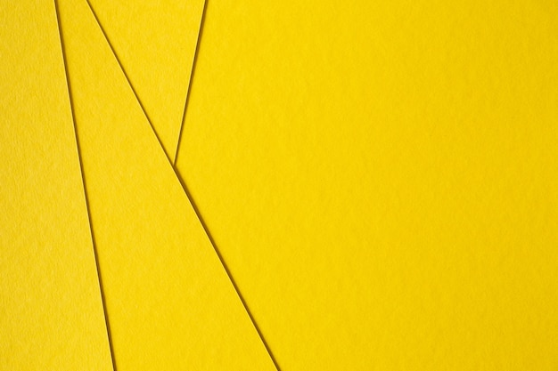 Abstract yellow paperboard background