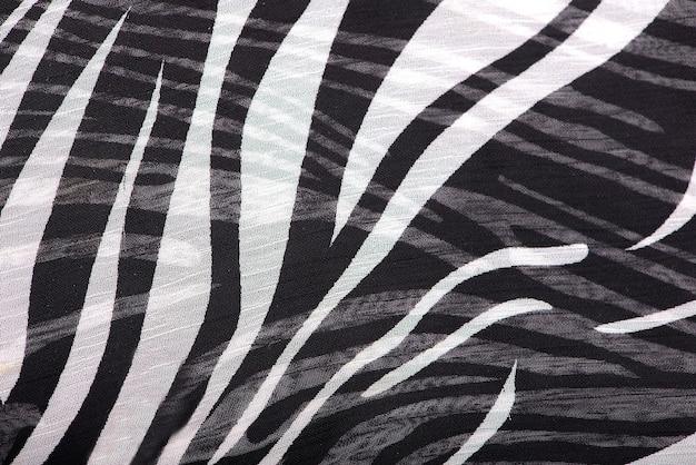 추상 얼룩말 패턴 천
