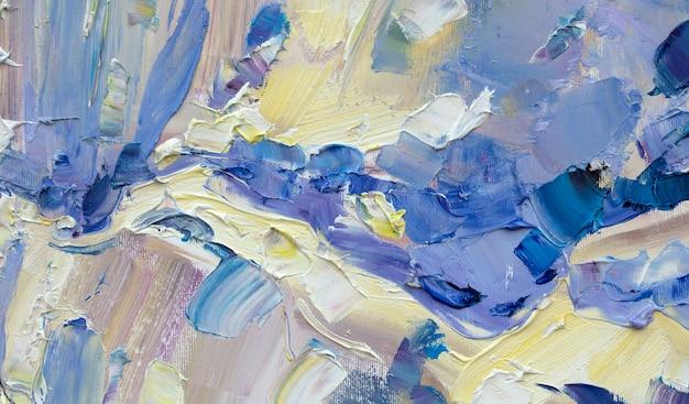 抽象化油絵手作りデッサン