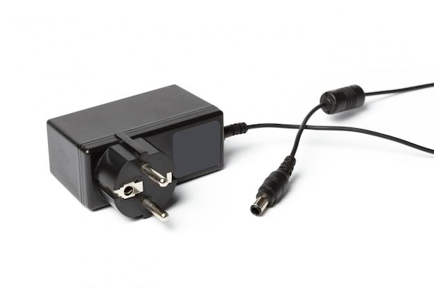 Адаптер переменного тока, изолированные на белом