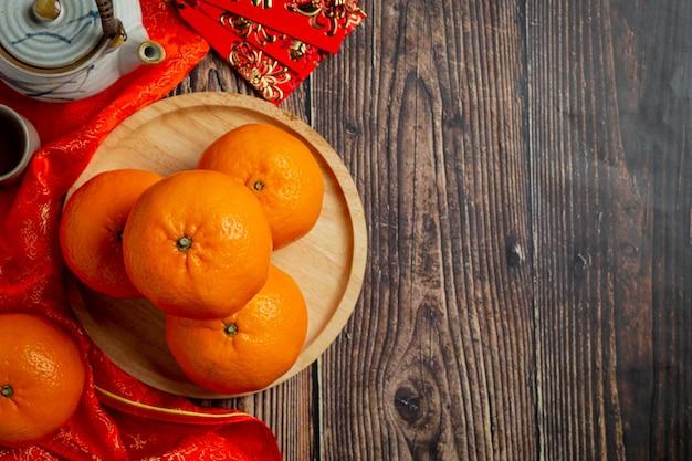 Accessori decorazioni per il festival del capodanno cinese.
