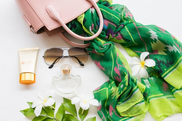 Accessories of lifestyle woman