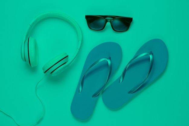 Accessories for relaxing on the beach