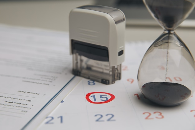 Accountant verify and check due date for payment expense and vendor of financial business