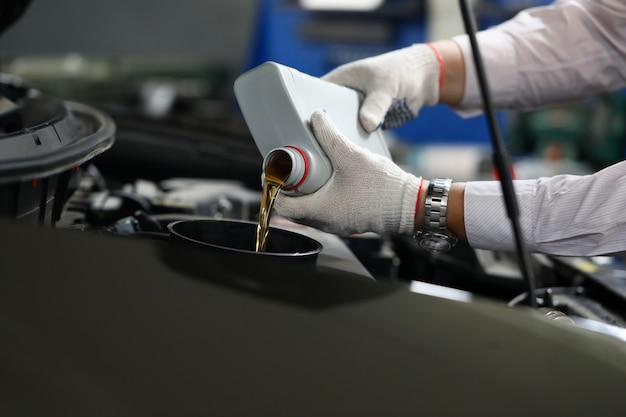 Accuracy oil change