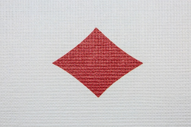 Ace of diamonds detail .poker casino playing cards