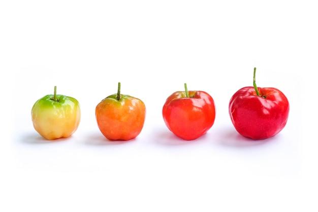Acerola cherry of thailand, barbados cherry
