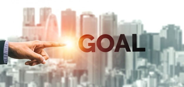 Achievement and business goal success