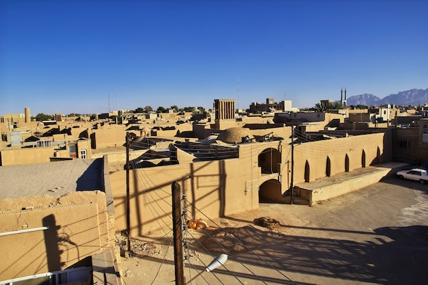 Acient city yazd in iran
