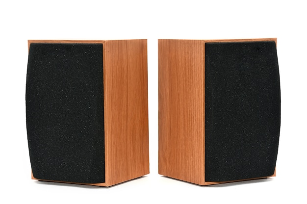 Acoustic systems on white