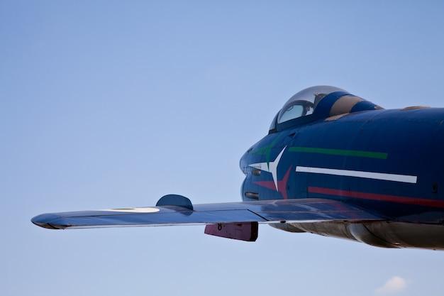 アクロバティック飛行機:フレッチェトリコローリチーム、g91rモデル