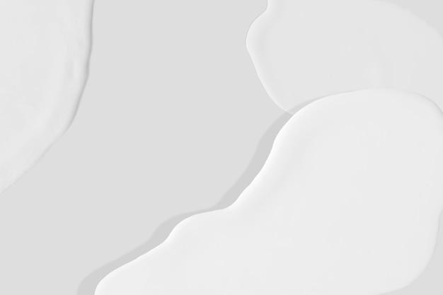 아크릴 브러시 스트로크 배경 밝은 회색 벽지 이미지
