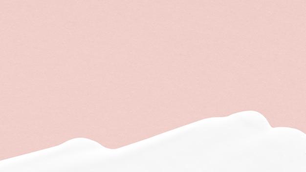 Trama di vernice acrilica sfondo rosa