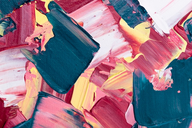 Акриловая краска текстурированный фон в розовом абстрактном стиле творческого искусства