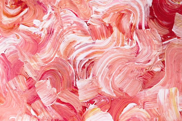 Акриловая краска текстурированный фон в розовом эстетическом стиле креатив