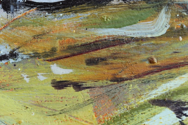 Acrylic painting texture background