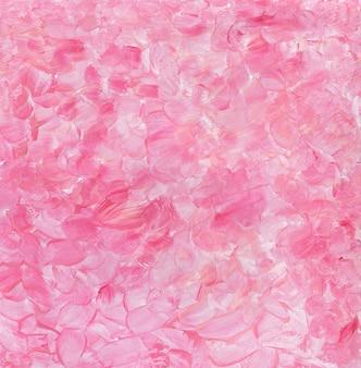 Акриловый розовый абстрактный фон с всплесками мазки кистью для обоев, плакатов, открыток, приглашений ...