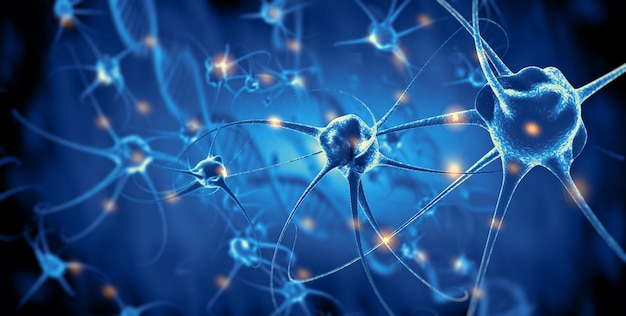 Активные нервные клетки