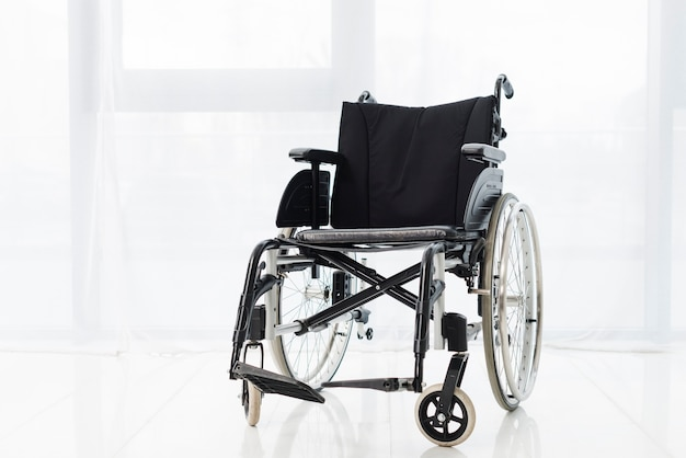 Active wheelchair in a room
