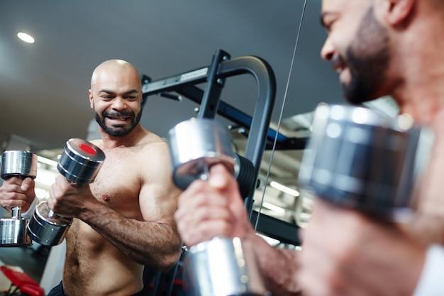 체육관에서의 활동
