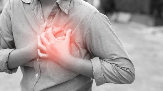 급성 심장 상태 및 심장 질환 증상