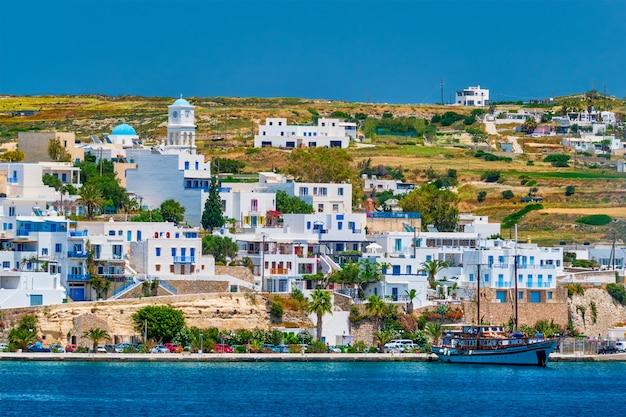 Adamantas adamas harbor town of milos island greece