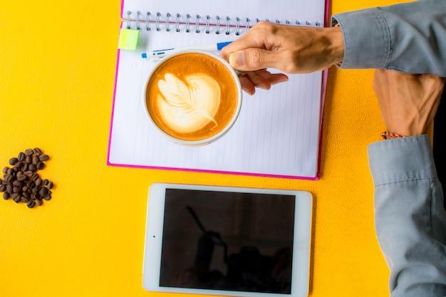 その他のリソース教育技術コーヒーカップラテコーヒー豆