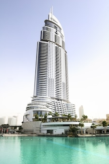 The address hotel in the downtown dubai area