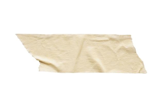 白で隔離される粘着紙テープ