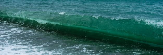 Adjarian coastline of black sea