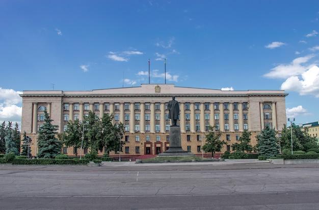 Административное здание в пензе, россия.