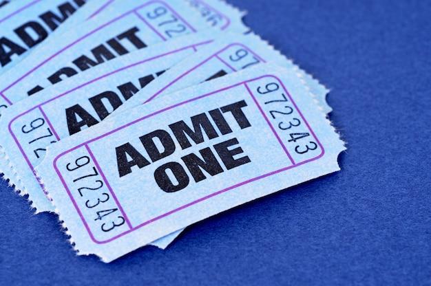 Признать один билет
