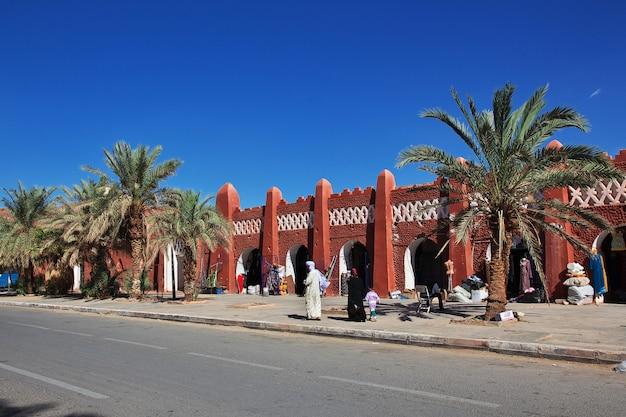 Adrar city in desert sahara, algeria