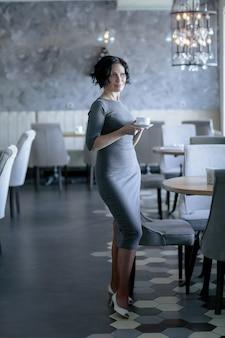 Adult woman businessman