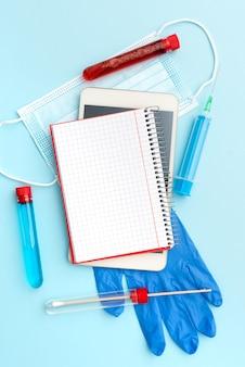 高度な医療技術研究所新しいウイルス医学の病気の病気の感染予防をテストするウイルス医学の研究科学研究治療計画