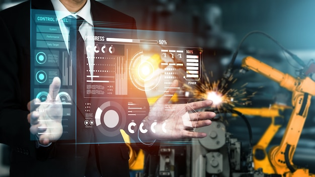 デジタル産業および工場のロボット技術のための高度なロボットアームシステム