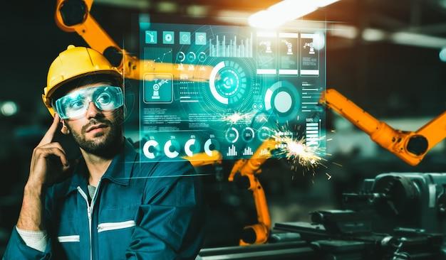 디지털 산업 및 공장 로봇 기술을위한 고급 로봇 암 시스템